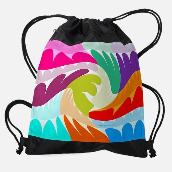 15 inch Laptop Sleeve Easter Omelet Drawstring Bag
