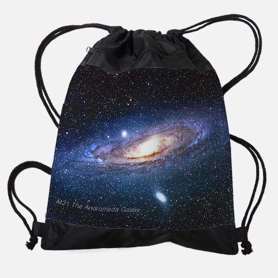 M31 Andromeda Galaxy Small Posters. Drawstring Bag