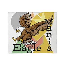 Eagle Mania Throw Blanket
