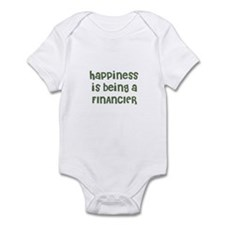 Happiness is being a FINANCIE Infant Bodysuit