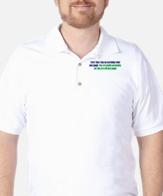 Benefits of Exercise Golf Shirt