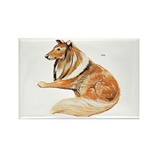 Pet Dog Rectangle Magnet (100 pack)