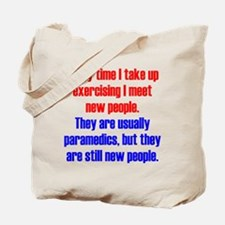 Benefits of Exercise Tote Bag