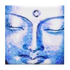 Blue Buddha Tile Coaster