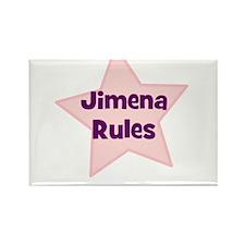 Jimena Rules Rectangle Magnet