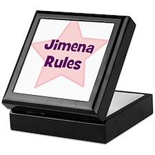 Jimena Rules Keepsake Box