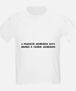 Invisible disability T-Shirt