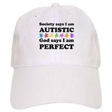Autistic=Perfect Baseball Baseball Cap