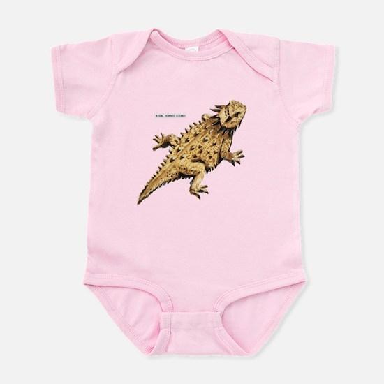 Regal Horned Lizard Infant Bodysuit