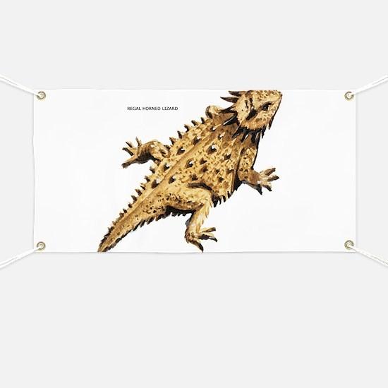 Regal Horned Lizard Banner