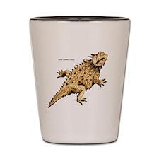 Regal Horned Lizard Shot Glass