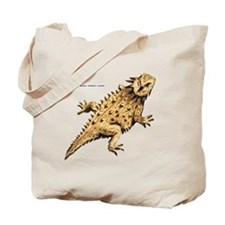 Regal Horned Lizard Tote Bag