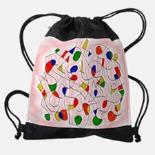 clownmemorygirl_frame_final.jpg Drawstring Bag