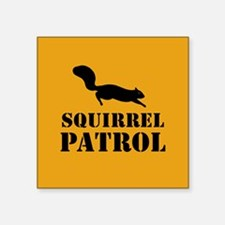 Squirrel Patrol Sticker