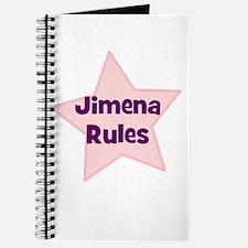 Jimena Rules Journal