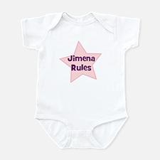 Jimena Rules Infant Bodysuit