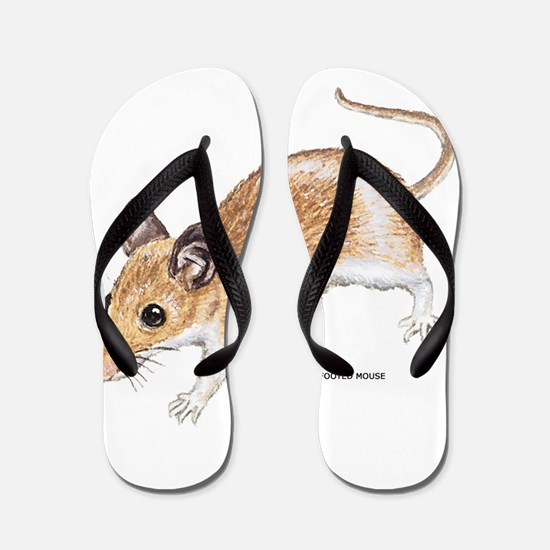 White-Footed Mouse Flip Flops