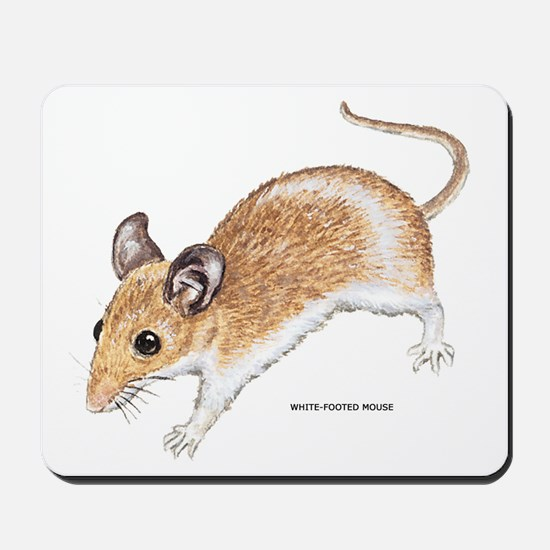 White-Footed Mouse Mousepad