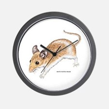 White-Footed Mouse Wall Clock