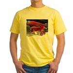 The Fokker DR1 #2 Shop Yellow T-Shirt