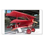 The Fokker DR1 #2 Shop Rectangle Sticker
