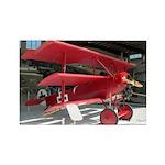 The Fokker DR1 #2 Shop Rectangle Magnet (100 pack)