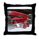 The Fokker DR1 #2 Shop Throw Pillow