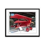 The Fokker DR1 #2 Shop Framed Panel Print