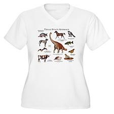 Texas State Animals T-Shirt