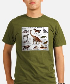 Texas State Animals T-Shirt