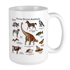 Texas State Animals Mug