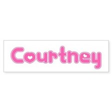 """Courtney"" Bumper Car Sticker"