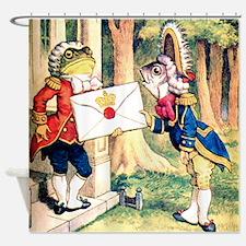 Pig & Pepper - A Royal Invitation Shower Curtain