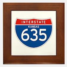Interstate 635 - KS Framed Tile