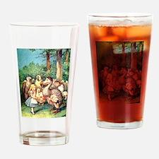 Alice and the Dodo Bird Drinking Glass