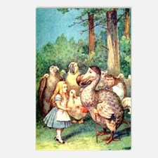 Alice and the Dodo Bird Postcards (Package of 8)