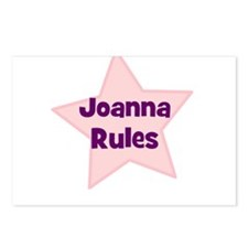 Joanna Rules Postcards (Package of 8)