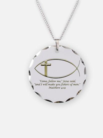 Matthew 4:19 Necklace