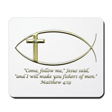 Matthew 4:19 Mousepad