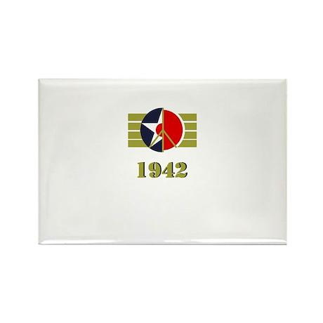 Peace Symbol USArmyAir Corps Japanese 1942 Rectang