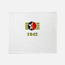 Peace Symbol USArmyAir Corps Japanese 1942 Throw B