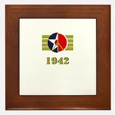 Peace Symbol USArmyAir Corps Japanese 1942 Framed