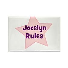 Jocelyn Rules Rectangle Magnet
