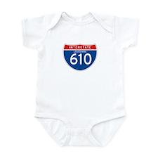 Interstate 610 - LA Infant Bodysuit