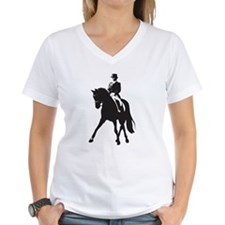 Women's Dressage V-Neck T-Shirt