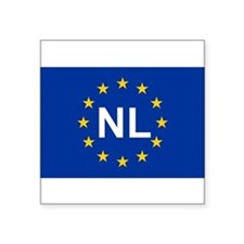 EU Netherland Sticker