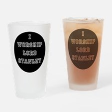 Cute Adult hockey Drinking Glass