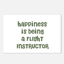Happiness is being a FLIGHT I Postcards (Package o