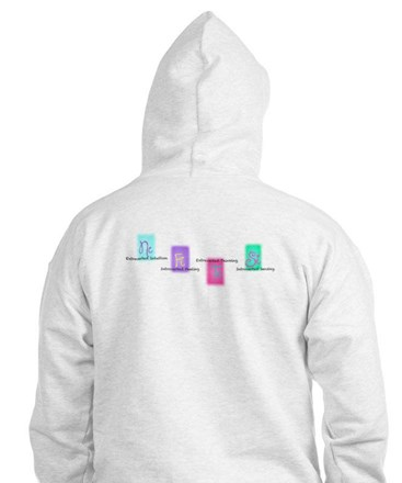 ENFP Hoodie W/ COGNITIVE FUNCTIONS ON BACK