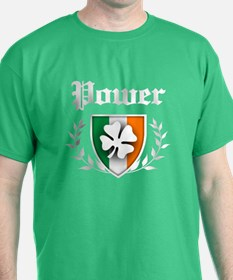 Power Shamrock Crest T-Shirt